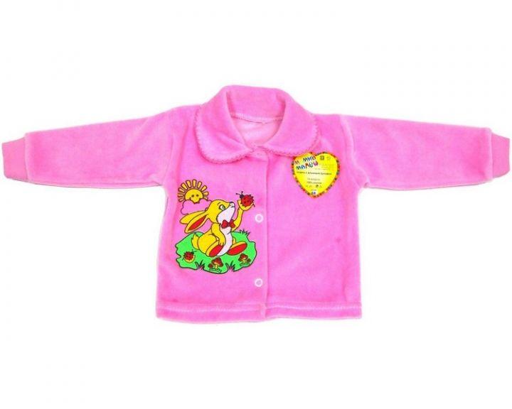 Детская велюровая кофта FA-KFA22-VL (код 01423) оптом Мамин Малыш OPTMM.RU