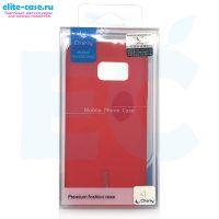Чехол Cherry силиконовый для Samsung S7 красный