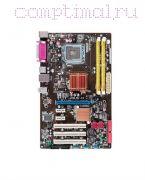Материнская плата LGA775  (чипсет P43, ATX, 2 слота DDR2)  ASUS P5QL-SE
