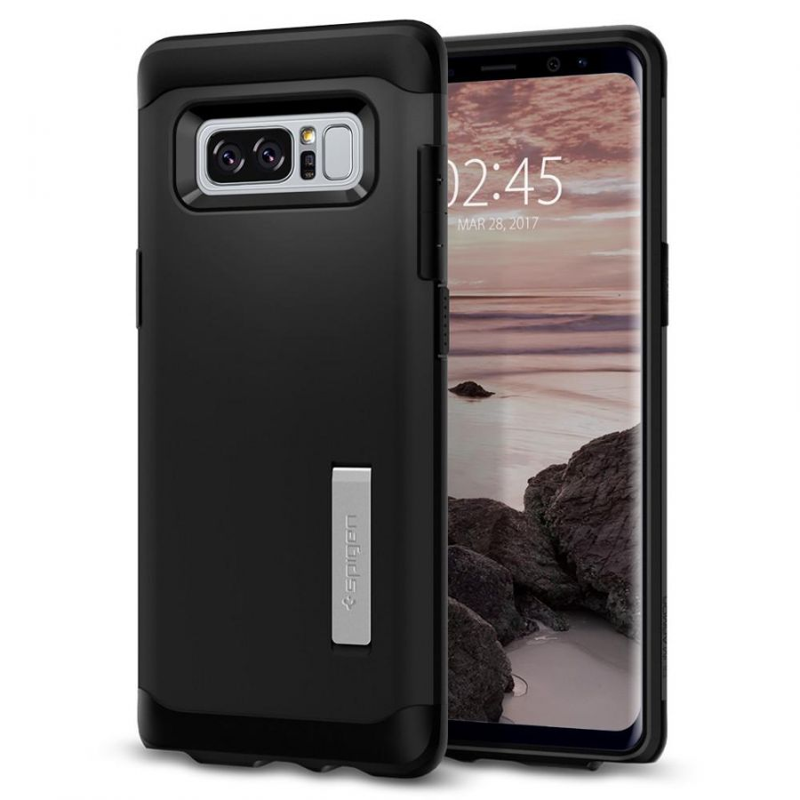 Чехол Spigen Slim Armor для Samsung Galaxy Note 8 черный