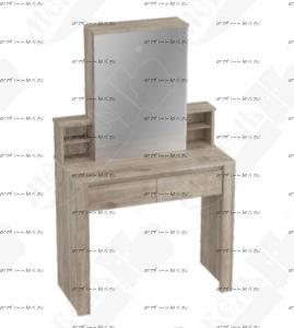 Стол туалетный Монте (90х42х148)