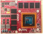 Видеокарта дискретная для ноутбука ATI Radeon HD4870M (1GB)