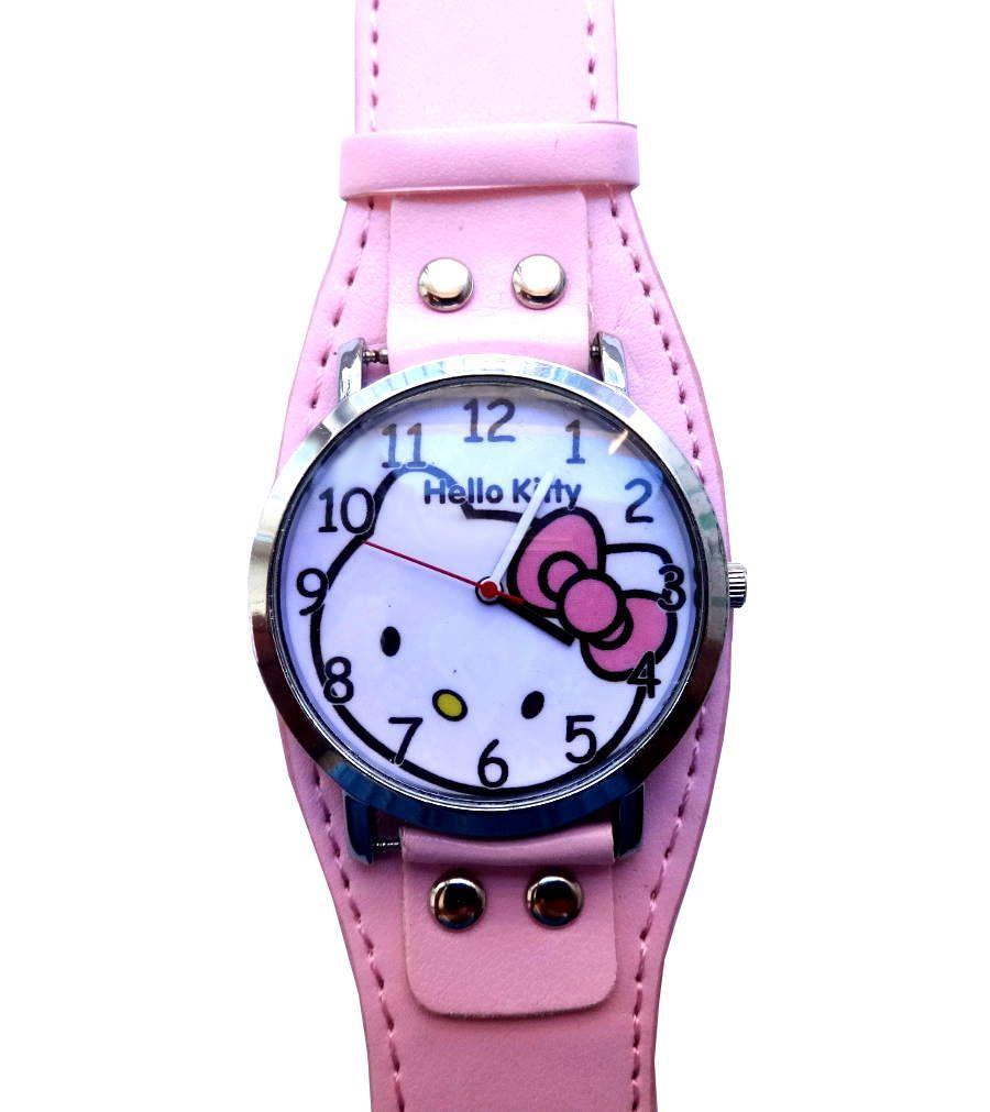 Часы HELLO KITTY с розовым ремешком