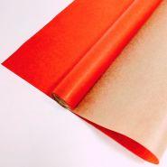 Вержированная однотонная, красная, 0,72*10 м, 40 гр/ м2
