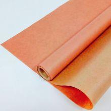 Вержированная однотонная, персиковый, 0,72*10 м, 40 гр/ м2