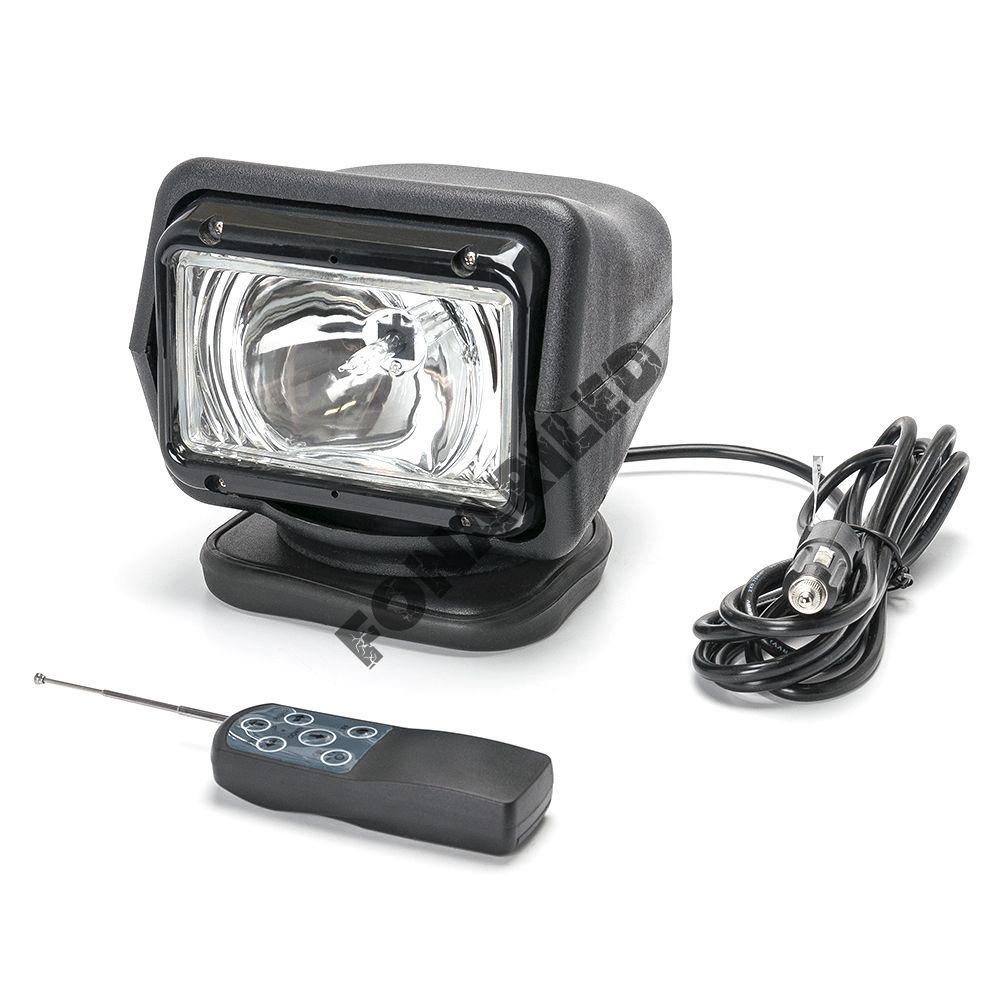 Черный фароискатель FI-GMB-70W spot дальний направленный свет