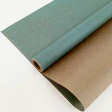 Вержированная однотонная, лазурно-голубой, 0,72*10 м, 40 гр/ м2