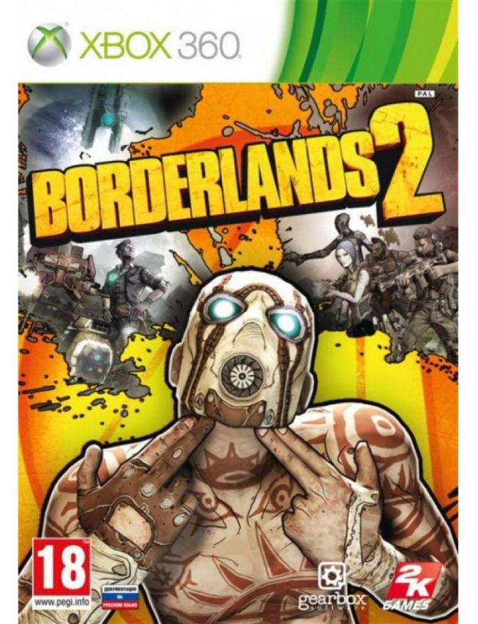 Игра Borderlands 2 (Xbox 360)