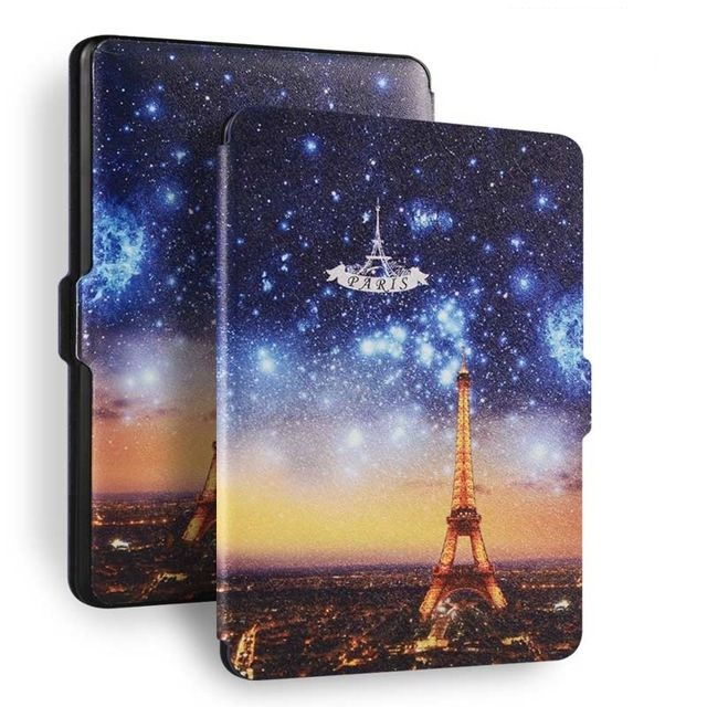 Чехол-обложка  для Amazon Kindle Paperwhite (Эйфелева башня)