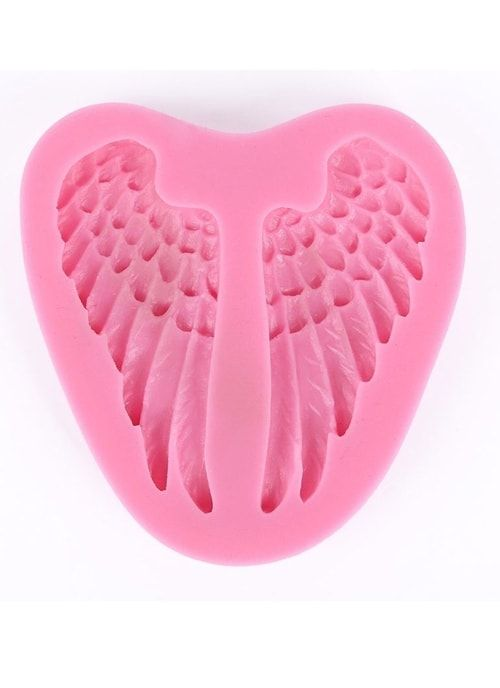 "Молд ""Крылья"" розовый"
