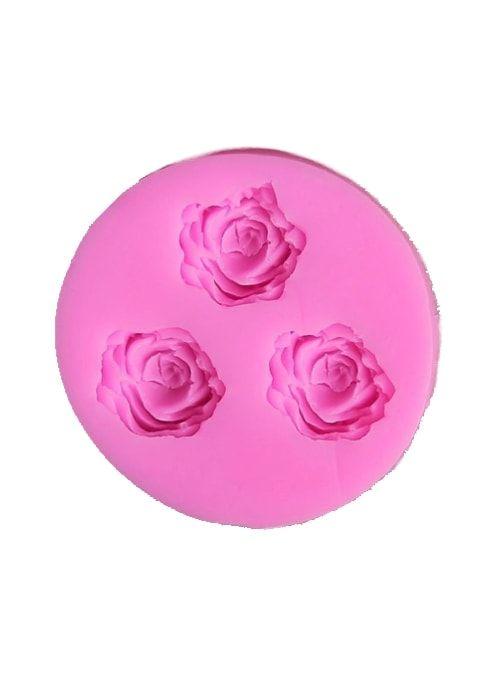 """Молд 7х1,2 см """"Три розы"""""""