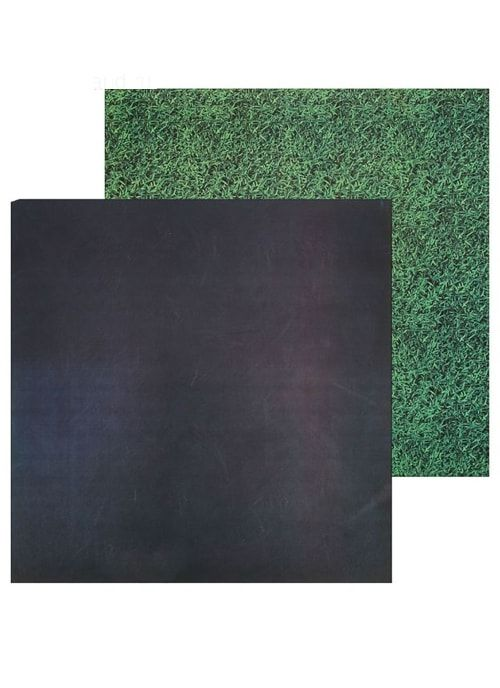Фотофон двусторонний «Грифельная доска–трава»