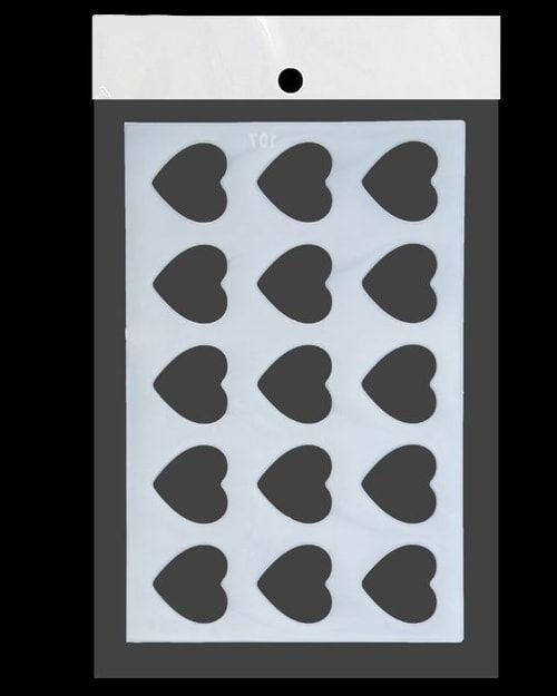 Трафарет для выпечки 23х15 Сердце