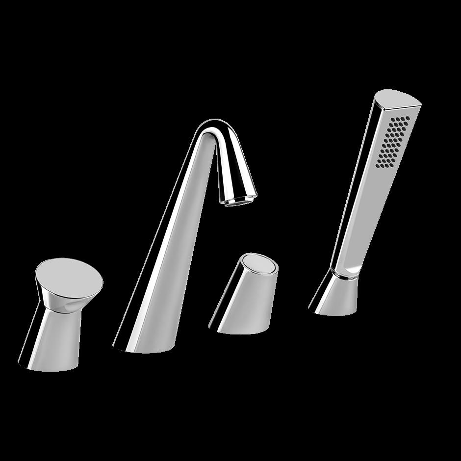 Смеситель для ванны и душа Gessi Cono 45037 ФОТО