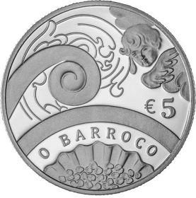 Эпоха Барокко 5 евро Португалия 2018