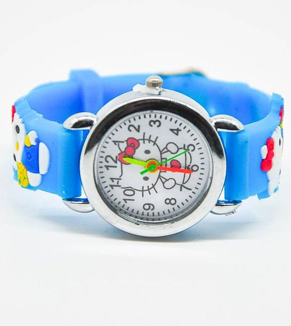 Бирюзовые наручные часы HELLO KITTY для девочки