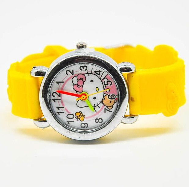 Наручные часы HELLO KITTY желтого цвета