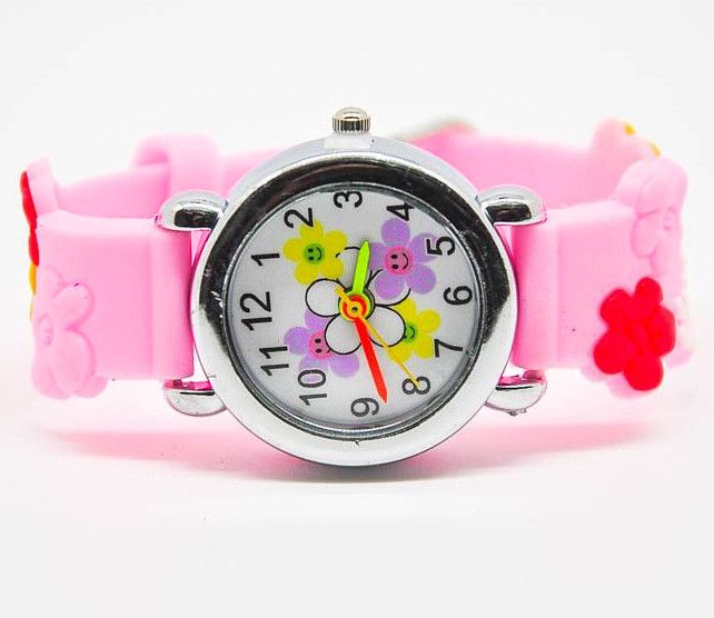 Наручные часы для девочки Цветы