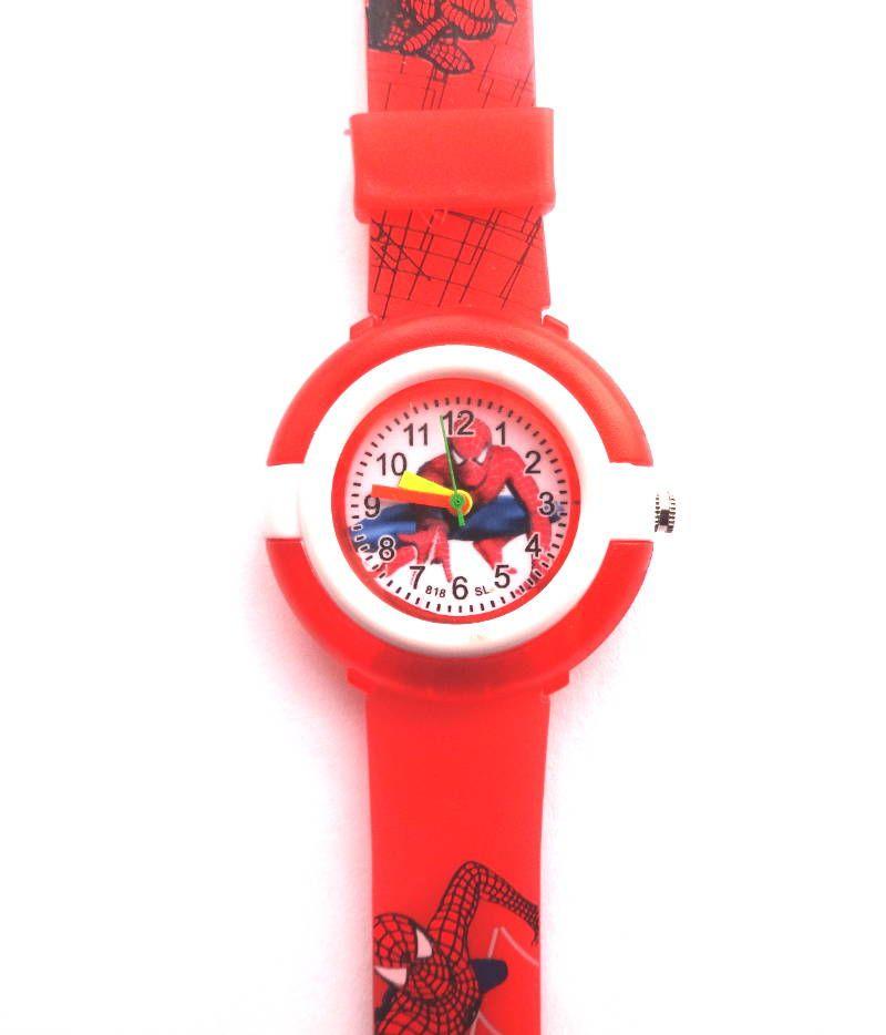 Красные наручные часы Человек Паук