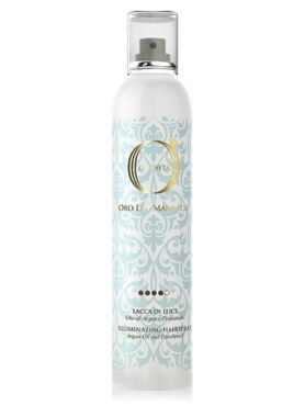 Barex Illuminating Hairspray Лак-блеск Золото Марокко