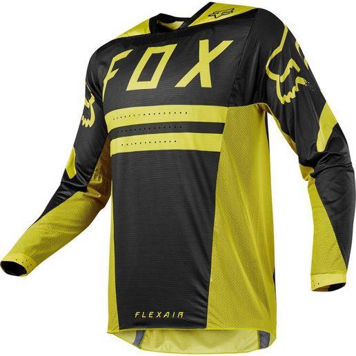 Fox Flexair Preest Dark Yellow джерси, темно-желтое