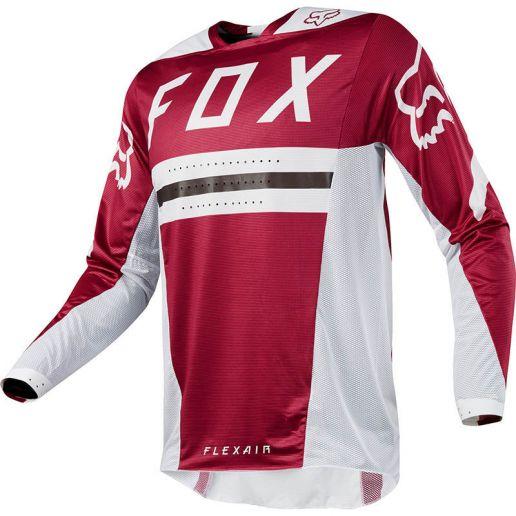 Fox Flexair Preest Dark Red джерси, темно-красное