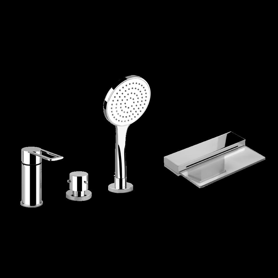 Смеситель для ванны и душа Gessi Trasparenze 34245 ФОТО