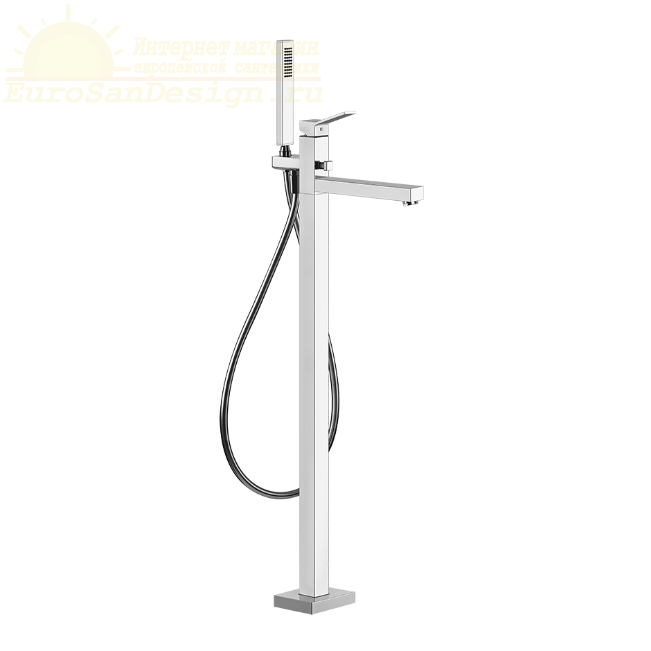 Смеситель для ванны и душа Gessi Rettangolo K 53128 ФОТО