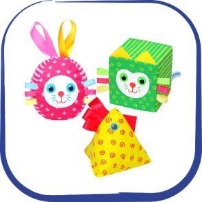 Развивающие игрушки Мякиши (Фокс)