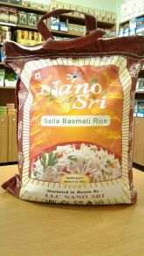 Рис индийский Басмати Селла | Basmati Sella | 0,5 кг | фасовка | Nano Sri
