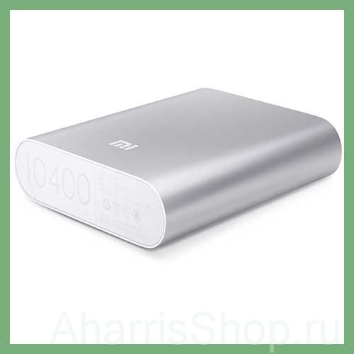 POWER BANK XIAOMI, 10400 mAh, серебряный.