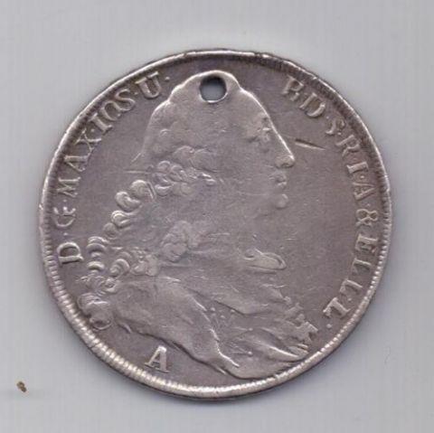 1 талер 1775 г. Амберг. Бавария. Германия
