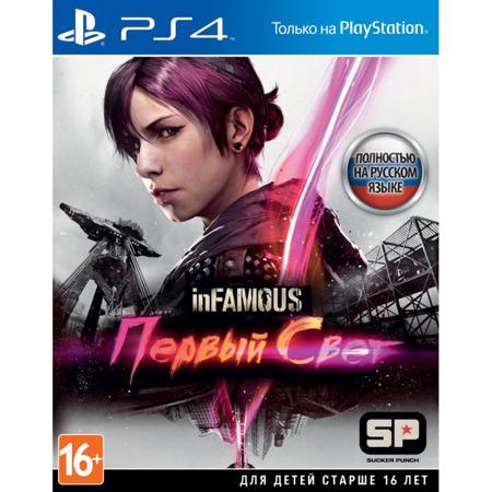 Игра inFamous : Первый Свет (PS4)