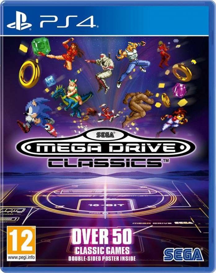 Игра Sega Mega Drive Classics (PS4)