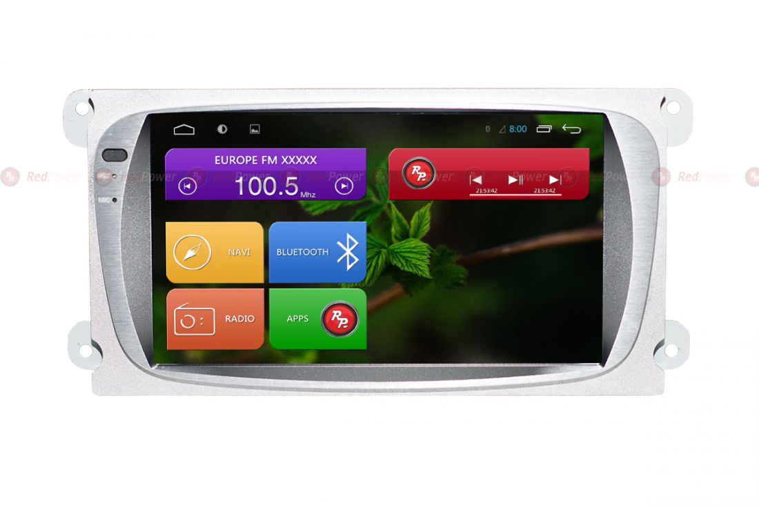 Магнитола Ford Focus (Android 6+) Redpower 31003 IPS цвет серый /черный ANDROID 7
