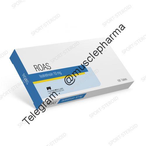 Roas (PHARMACOM LABS). 100 таб. по 10 мг