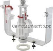 Арматура боковой подвод  1/2 двойной слив ALCA PLAST