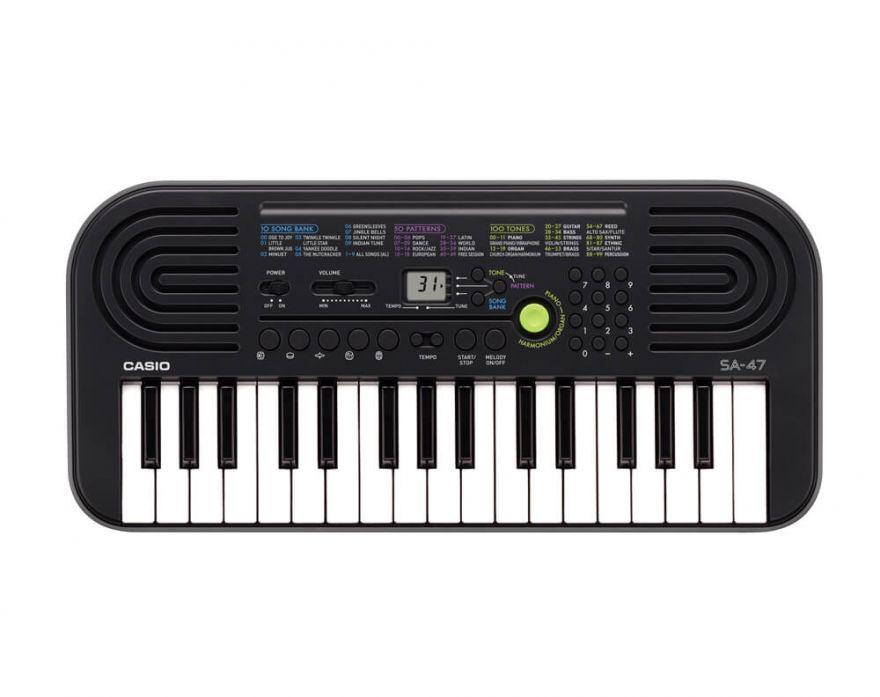 Casio SA-47 детский синтезатор