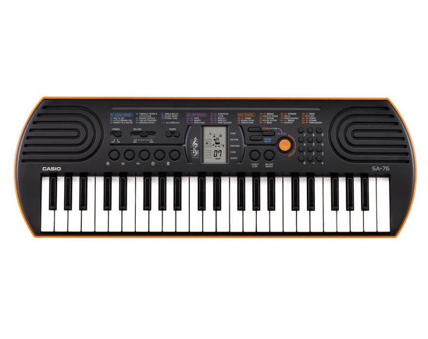 Casio SA-76 детский синтезатор