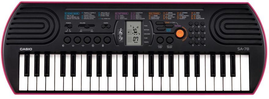 Casio SA-78 детский синтезатор