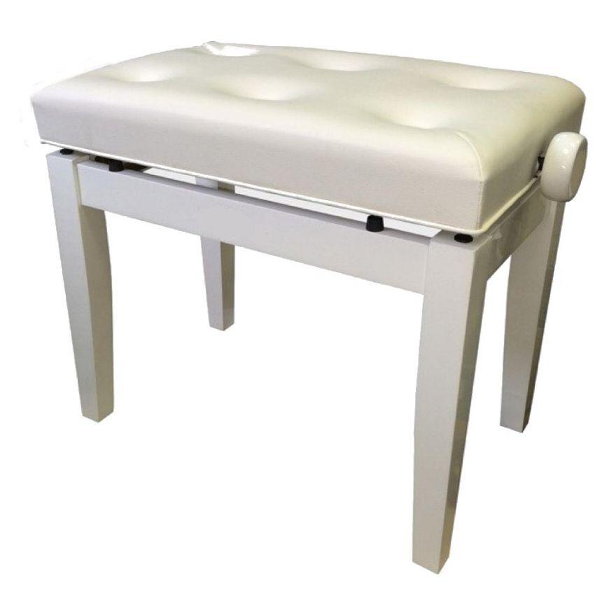 Банкетка деревянная белая