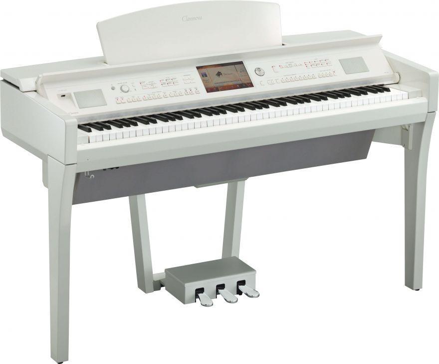 YAMAHA CVP-709PWH Цифровое пианино