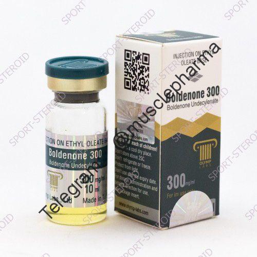 Boldenone 300  (БОЛДЕНОН). OLYMP. 1 флакон * 10 мл.