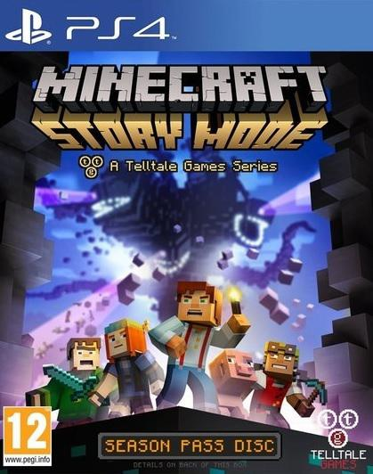 Игра Minecraft : Story Mode A Telltale Games Series (PS4)