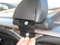 Багажник на крышу Nissan Qashqai (5-dr CUV 2007-13), Lux, прямоугольные стальные дуги