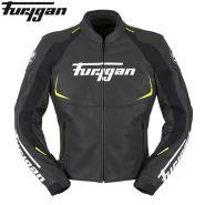 Мотокуртка кожаная Furygan Spectrum, Черный/Желтый
