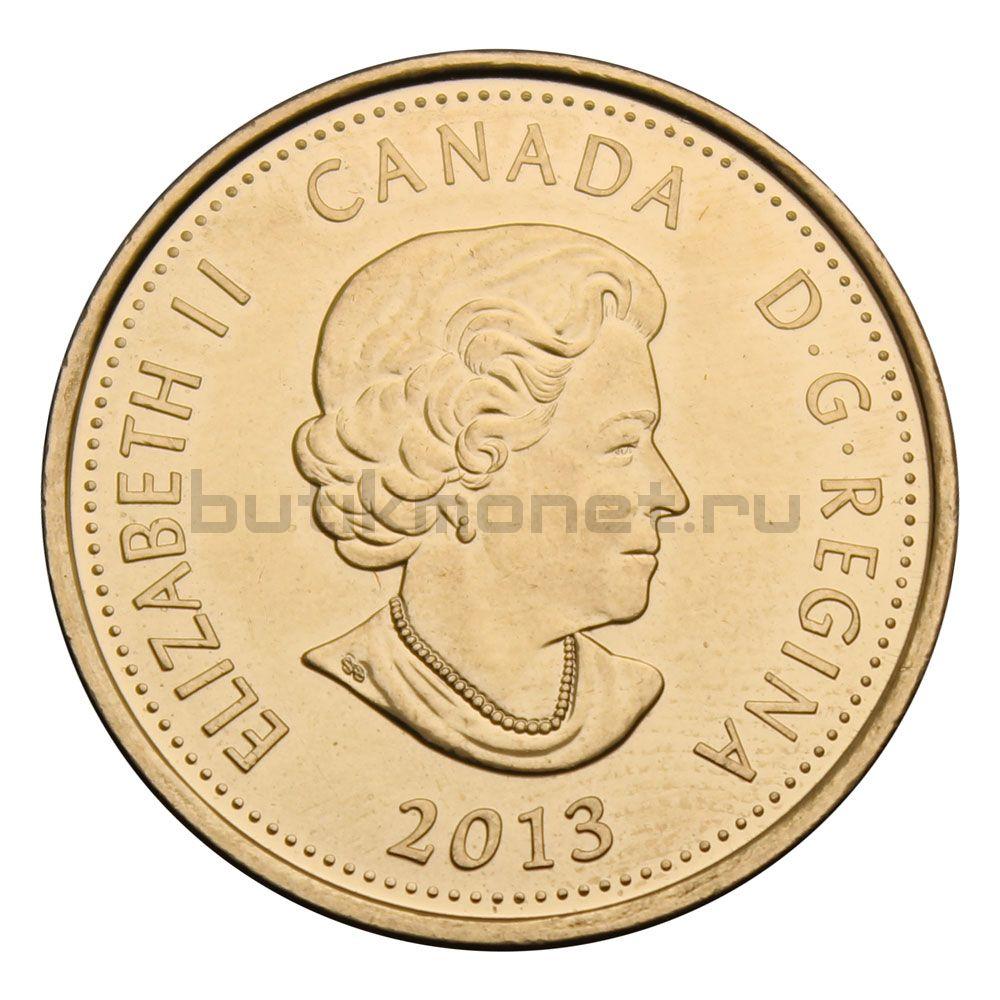 25 центов 2013 Канада Шарль-Мишель де Салаберри  Цветная (Война 1812 года)