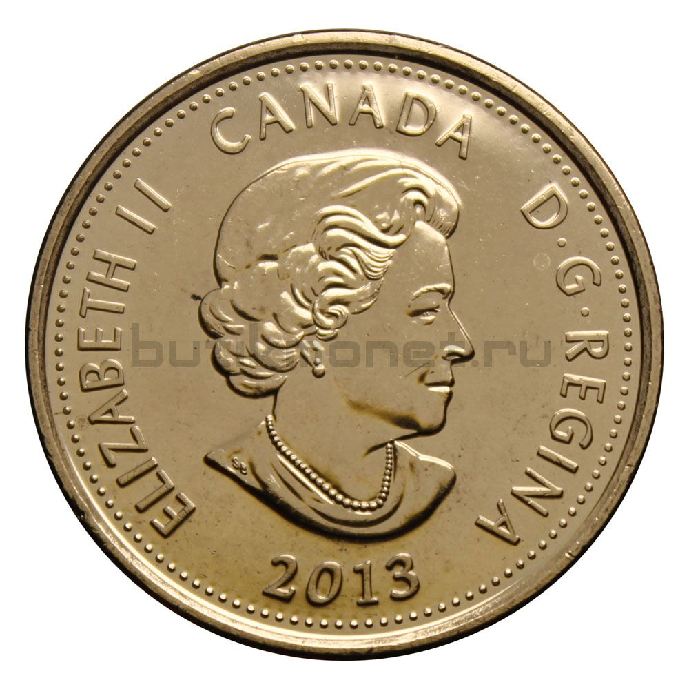25 центов 2013 Канада Лора Секорд (Война 1812 года)