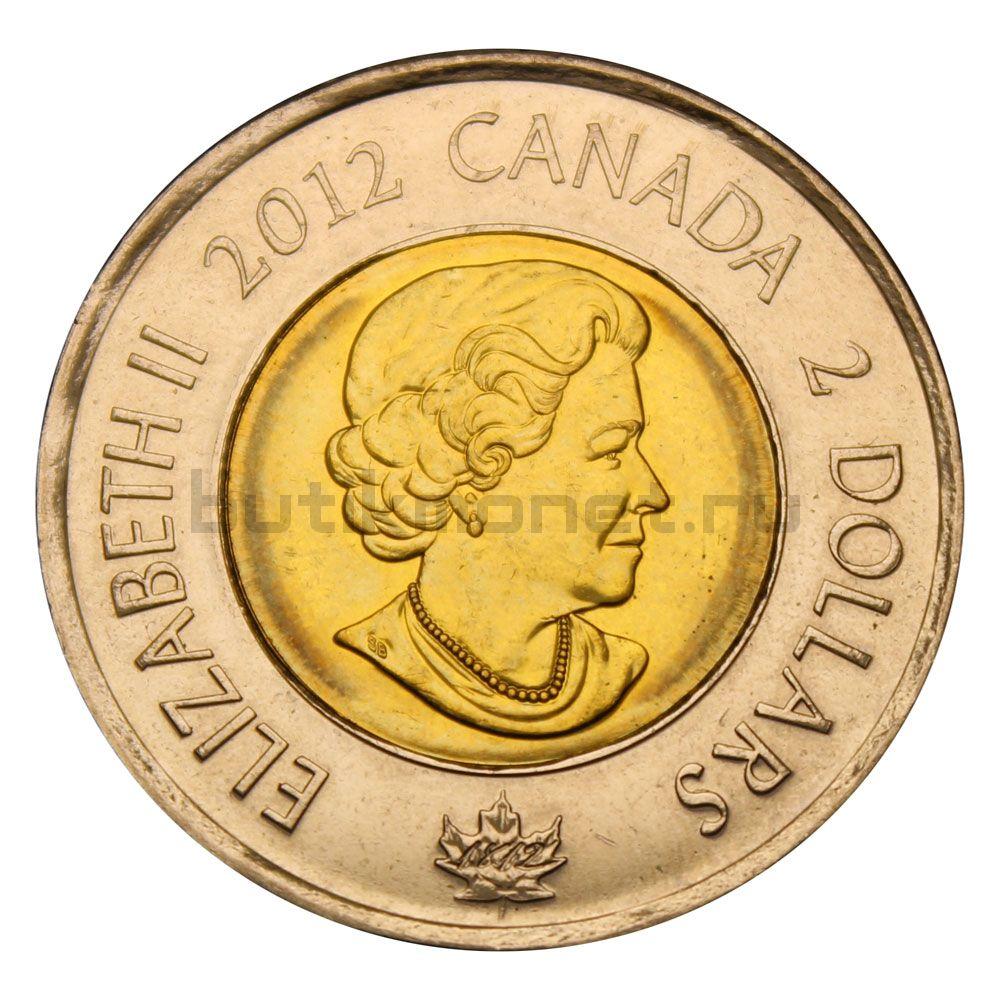 2 доллара 2012 Канада Корабль Шеннон (Война 1812 года)