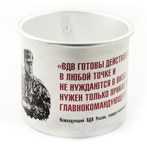 Кружка алюминиевая Шаманов ВДВ